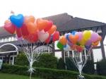 Ballons auf dem Hochzeitsball in Schwerte beim Freischütz