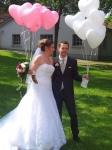 Ballons für das Brautpaar in Ratingen