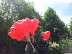 In Bottrop flogen unsere roten Herzen