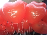 Personalisierte Ballons zur Hochzeit am Vosshövel in Schermbeck
