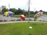 In Werne flogen die Geburtstags Ballons