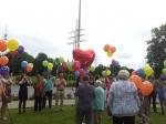 Ballonflug in Werne zum 100ten Geburtstag