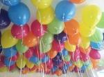 90 bunte Ballons flogen in Dorsten