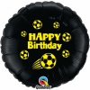 Bday Football Black Yellow Ink