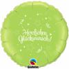 Herzlichen Glueckwunsch Lime Green